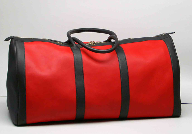 red-duffle-bag