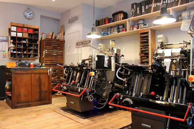 Printing-press-Paris
